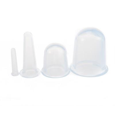 Silicone Anti-cellulite Massage Vacuum Cupping 4pcs
