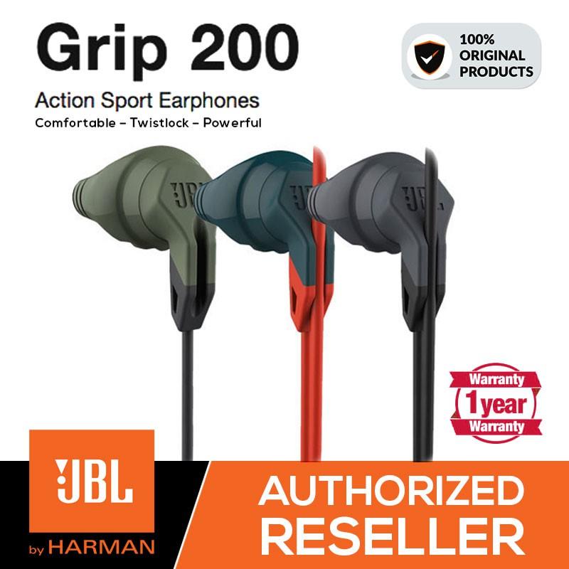 72fcf20e337 Original JBL Grip 200 Action Sport In-Ear Headphones With Twistlock Design  | Shopee Malaysia