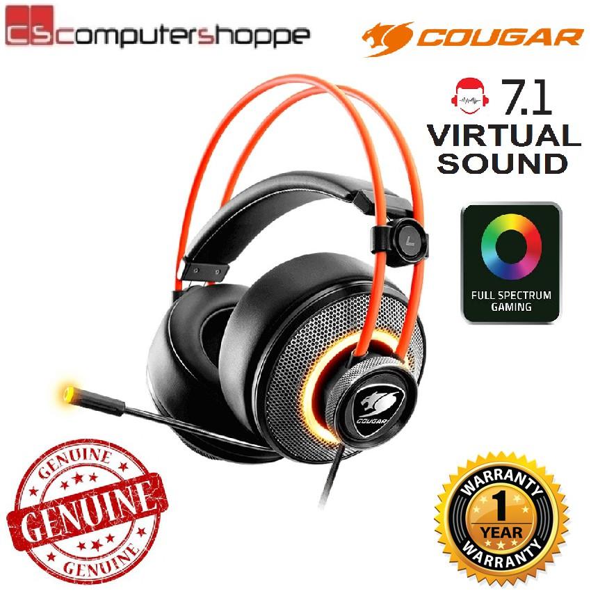 6c692b75776 Cougar Immersa Pro Ultimate 7.1 Virtual Surround & Brilliant Lighting  Effect | Shopee Malaysia