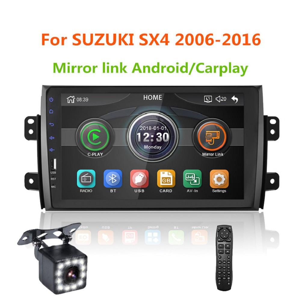 pretty nice f652b 6ca5d Mirrorlink iPhone Android 9.0 Car Radio Multimedia MP5 Player For SUZUKI SX4