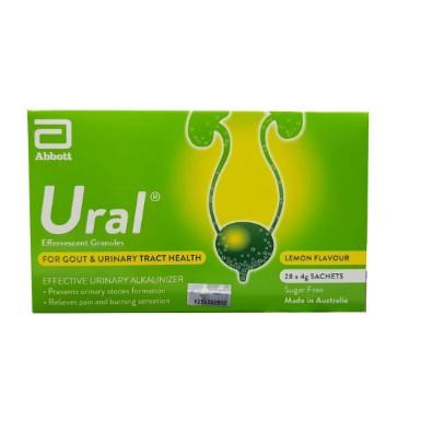 Ural Effervescent Granules (4gx28 Sachets)