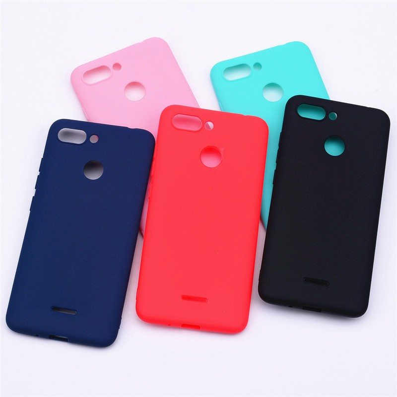 Soft Silicone Case for Xiaomi Redmi 6 Cover TPU Back Phone Cases for Xiaomi  REDM