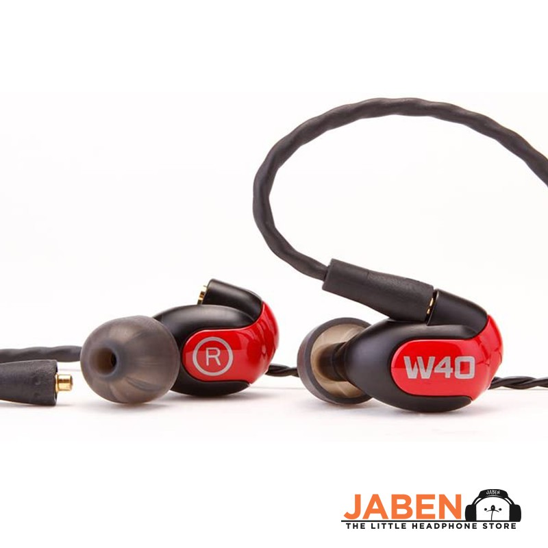 Westone W40 Quad BA Drivers MMCX IEM for Professional Monitoring and Mixing In-Ear Earphones