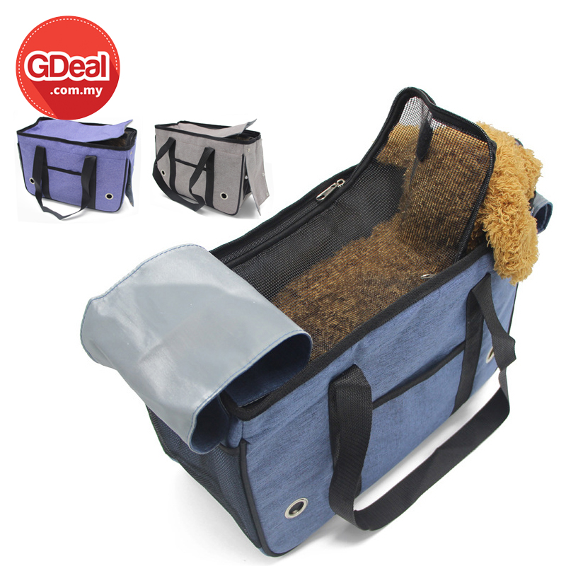 GDeal Fully Enclosed Pet Travel Portable Dog Outing Bag Beg Anjing S Size بيڬ انجيڠ