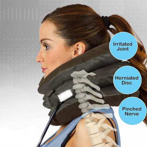 READY STOCK SHP] BANTAL SUPPORT LEHER / BAIKI TULANG LEHER / Air Cervical Neck Traction Soft Brace