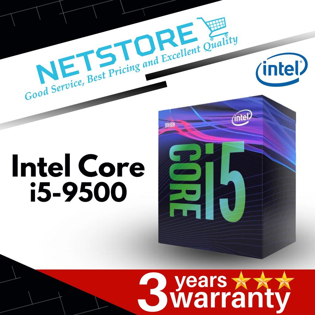 Intel Core i5-9500 Desktop Processor 6 Cores up to 4.GHz LGA1151 300 Series 65W