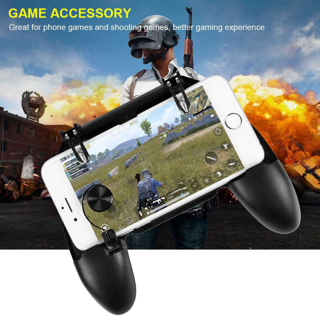 Eat chicken artifacts Jedi survival six-finger linkage button assist gamepad W11+ (Standard)
