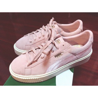 Details about Puma Basket Heart White Patent Leather Rihanna Creeper