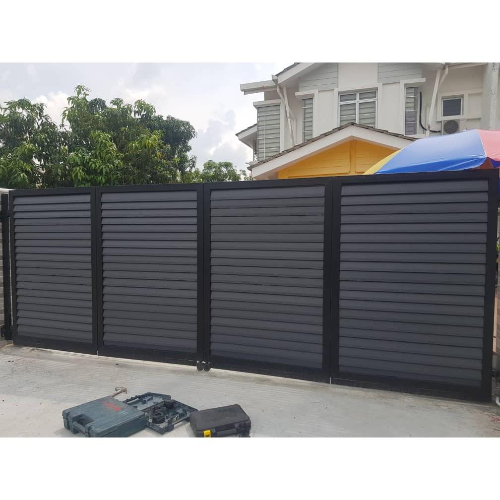 Pagar Gate Baru Rumah 2020 15 X 5 Shopee Malaysia