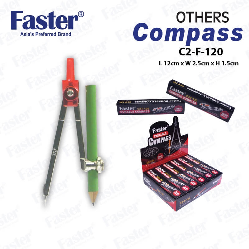 Faster  Durable Compass C2-F-120