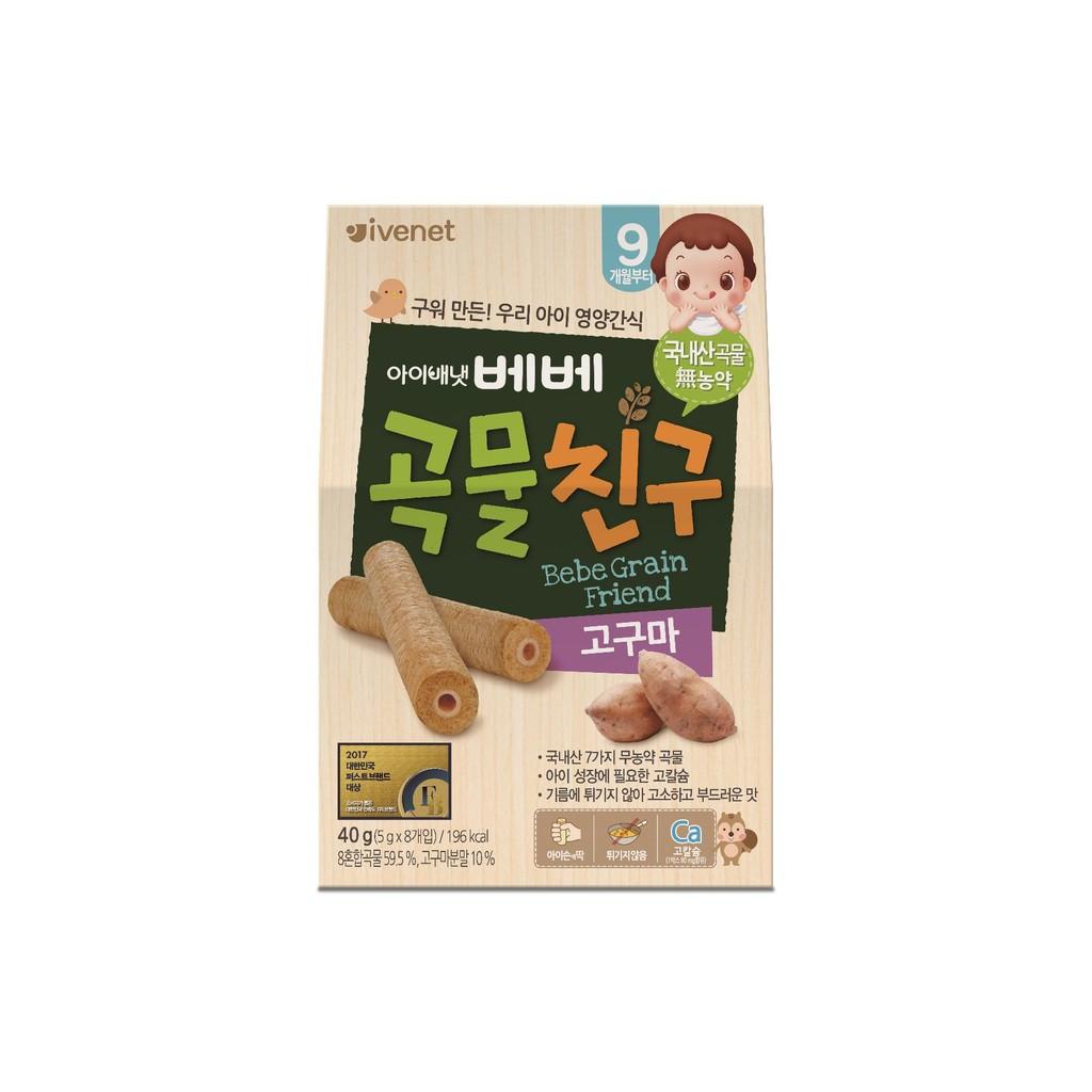 Ivenet Bebe Grain Friends for 9m+ - Sweet Potato (40g)