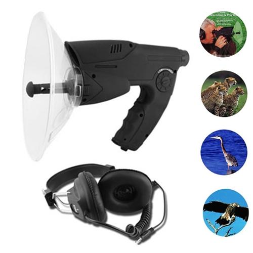 Parabolic Spy Bionic Ear Sound Amplifier + X8 Zoom Monocular Device