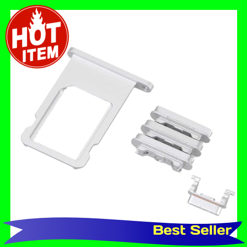 Side Buttons SIM Card Tray Volume Key Power Keypad Vibrator Keys Repair Fix Replace Replacement Parts for iPhone 6 4.7