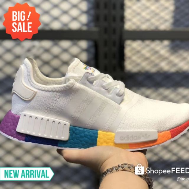 Kasut Adidas Nmd R1 V2 Boost Running Shoes Women Men Sneakers 36 45