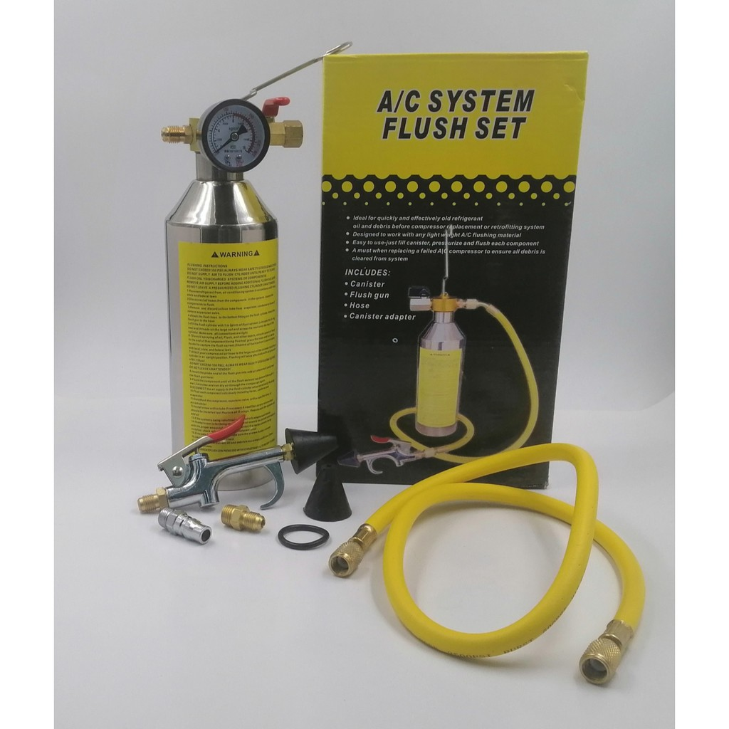 TOLACFS-AIR-COND SYSTEM FLUSHING SET - COPPER