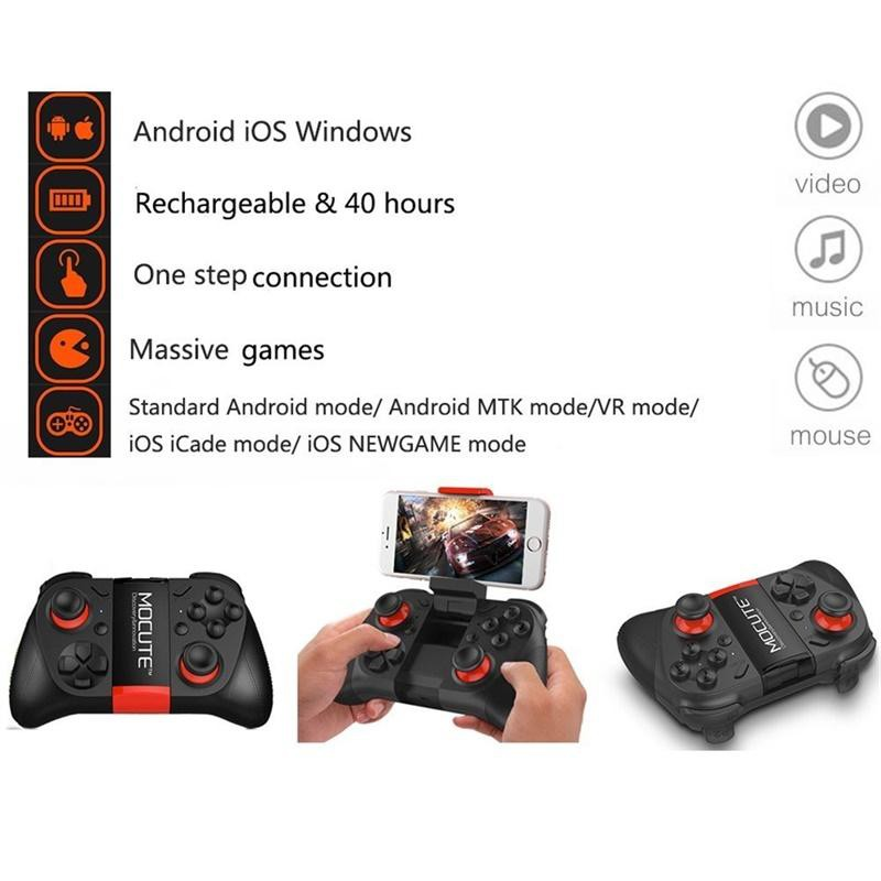 VR Controller Wireless Gamepad Bluetooth 3 0 Game Controller