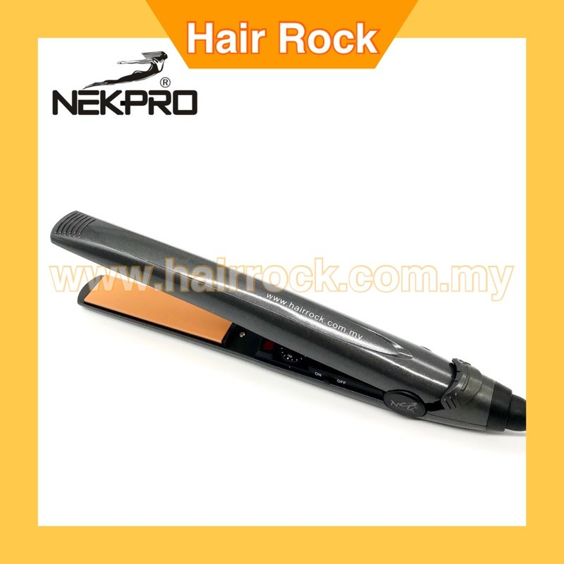 NEKPro  Professional Ceramic Hair Straightener Japan Ceramic Plate