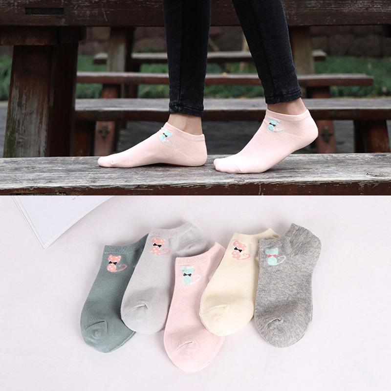ถุงเท้าสั้นน่ารัก YK 0182 สำหรับผู