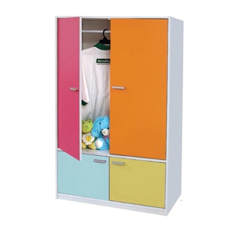 Furniture Direct KADE 4 door children wardrobe/ almari kanak kanak
