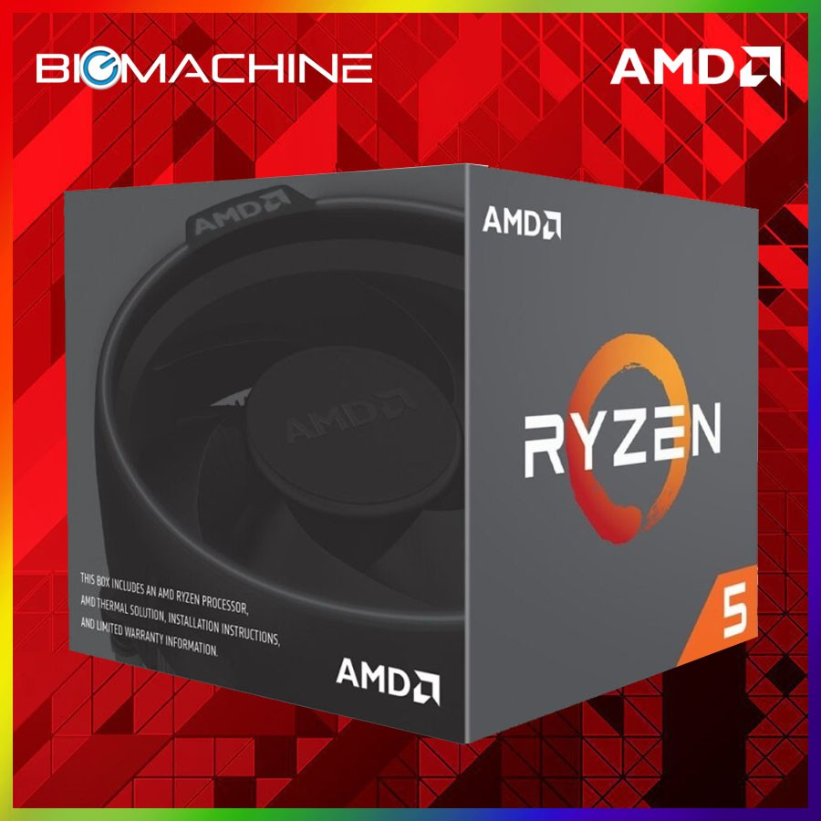 AMD Ryzen 5 2600 with Wraith Stealth Cooler
