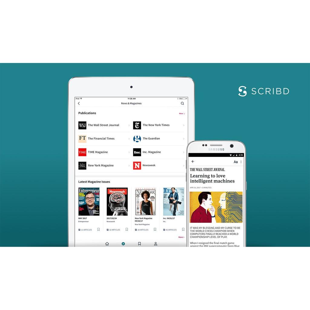 Scribd (Lifetime Premium)