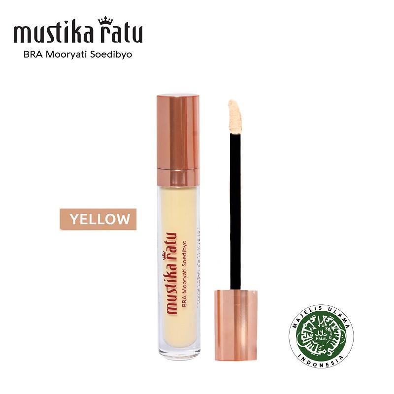 Mustika Ratu Beauty Queen Color Corrector Concelear For Dark Spots - Yellow (5ml)