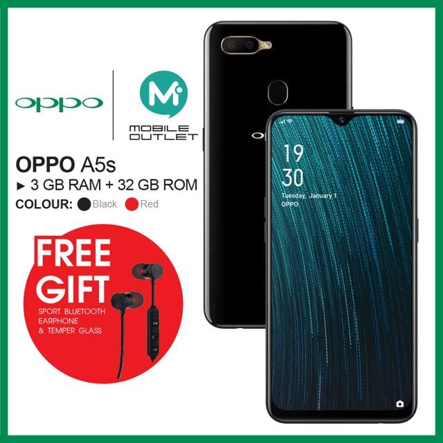 OPPO A5s 3GB/32GB (Original OPPO Msia)