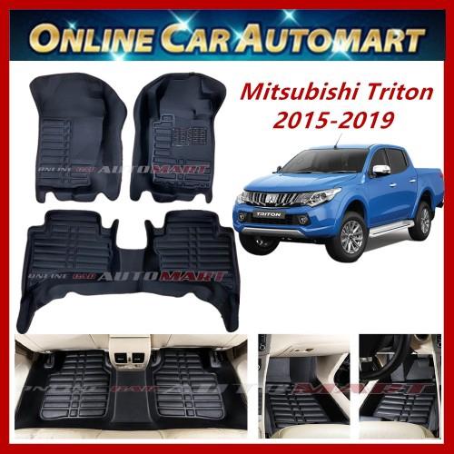 Mitsubishi Triton(L200)(2015-Present)(5D OEM car carpet(Blk/Blk)(5Seater)