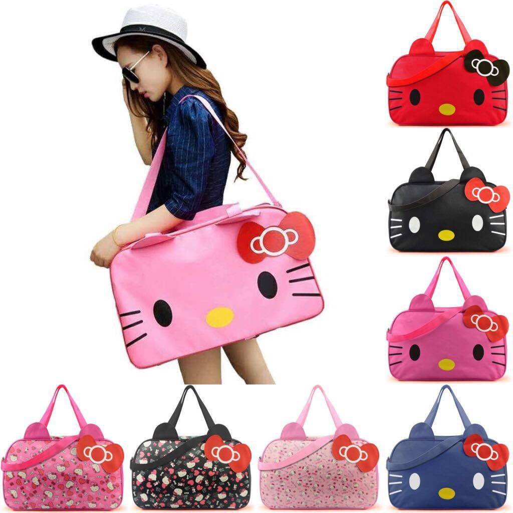 033e88c87 ProductImage. ProductImage. HelloKitty Oxford Oxford waterproof Handbag  Shoulder Bag Travel ...