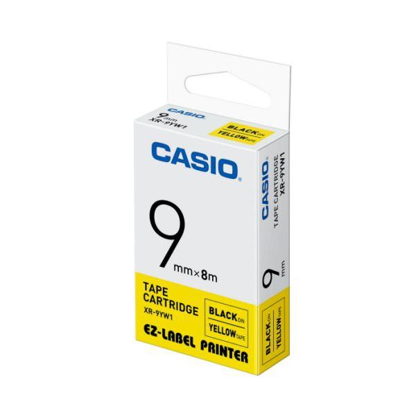 (NEW) CASIO EZ-Label Printer Tape Cartridge - ( 9mm X 8m )
