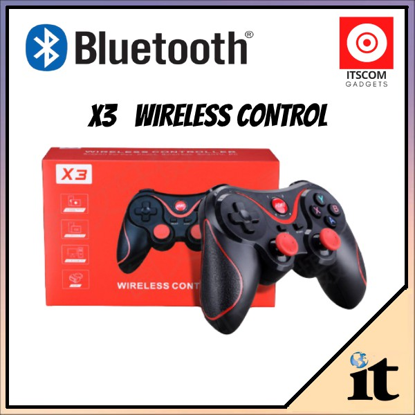 Wireless Bluetooth Game Controller For iPhone/IOS/Android Smart Phone/PS3/PC/TV Box