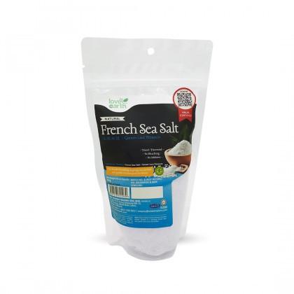 Love Earth French Sea Salt (Fine) 乐儿细粒海盐 350公克 (袋装)