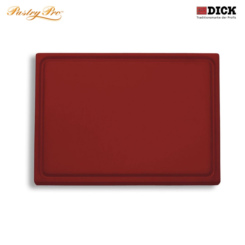 F.DICK, Cutting Board - with juice groove, HACCP Colour Coded, Brown