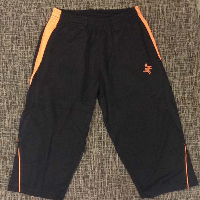 RSL 3/4 Short (Black/Orange)
