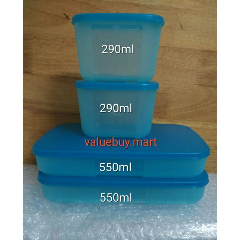 Tupperware Freezermate 550ml /290ml
