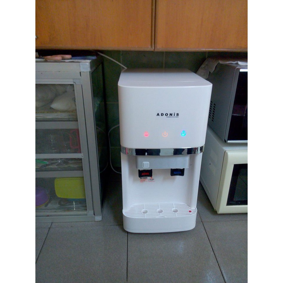 D300-Alkaline Hot & Cold Table Top Water Dispenser (White)