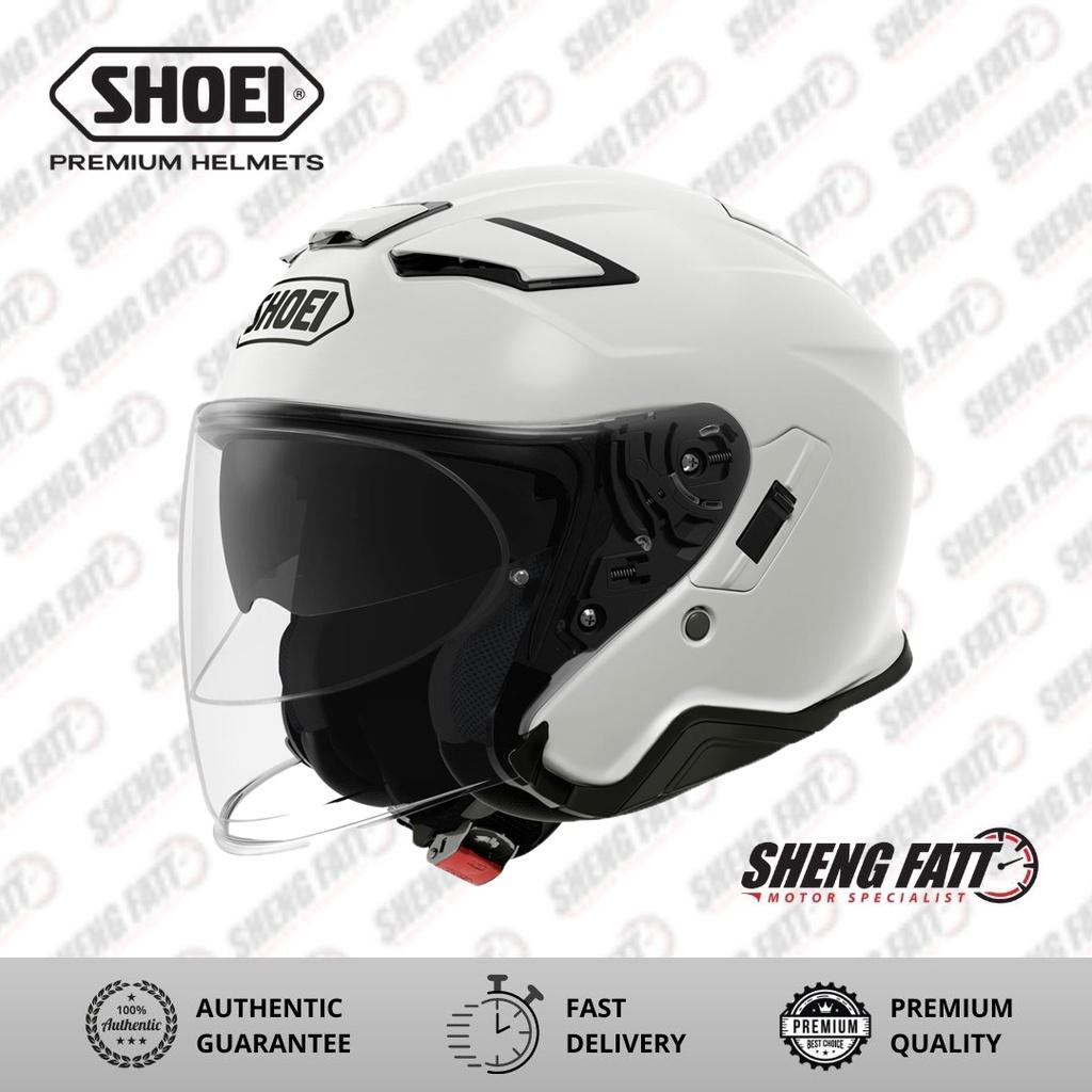 Shoei J-Cruise 2 White Open Face Helmet S Size