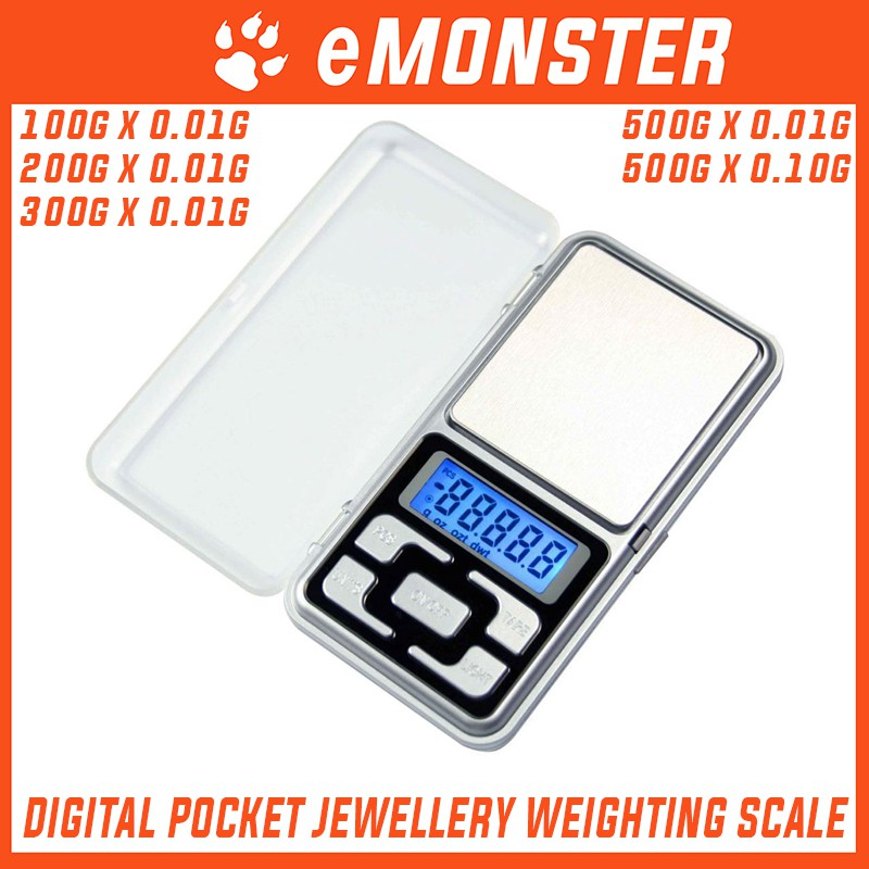 oz dwt AOSAI ATP188 Pocket Scale Portable Jewelry Scale 200g 0.01g g ct
