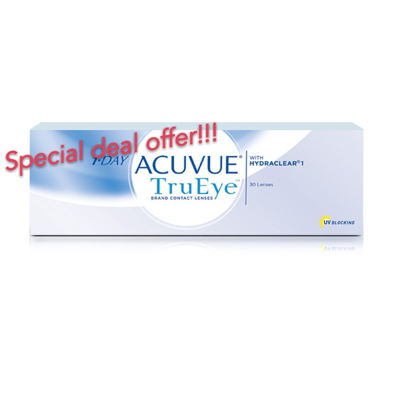 44fd55352dc43 Acuvue Trueye daily disposable lenses 30pcs  pack   Shopee Malaysia