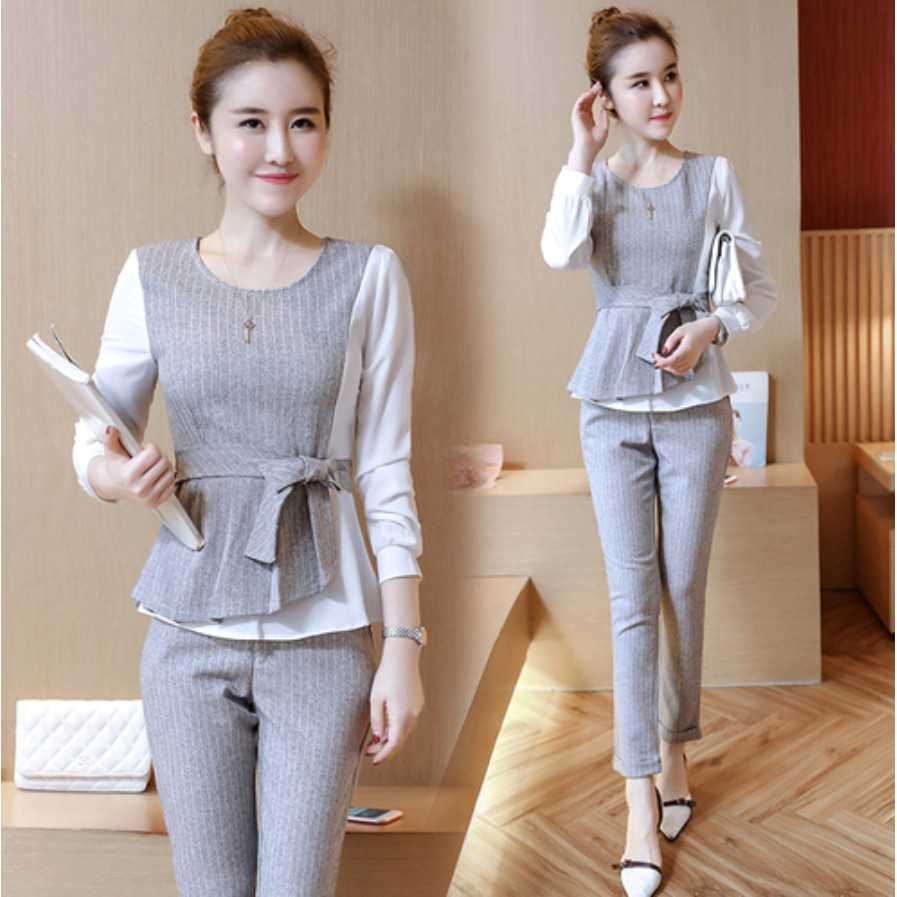 Office Wear Las Women Suit Two Piece
