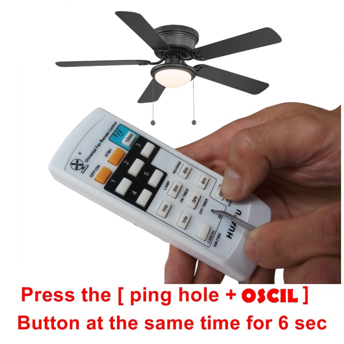 MALAYSIA] REMOTE KIPAS SILING / Ceiling Fan Wall Fan Remote Control Replacement Huayu RM-F989