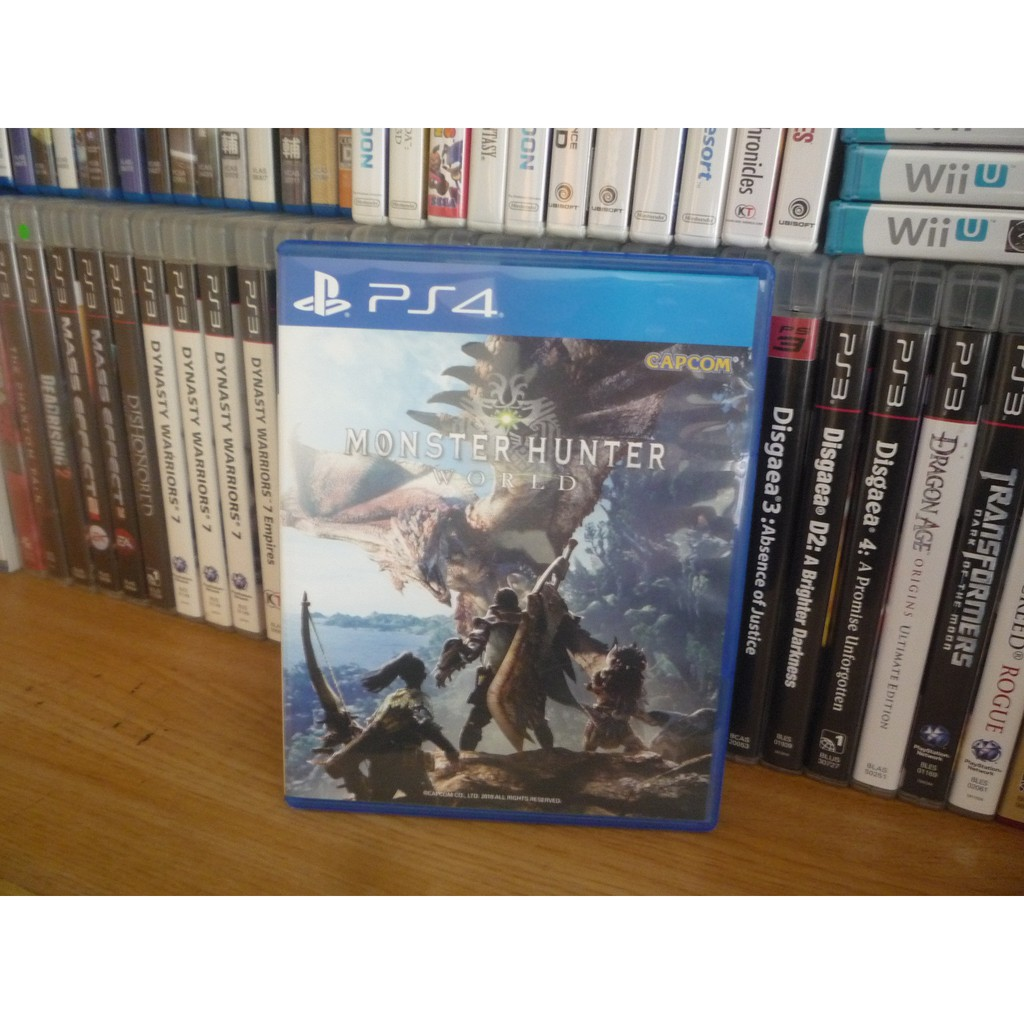 R3 (CHINESE/ENGLISH) Monster Hunter World PS4 Game