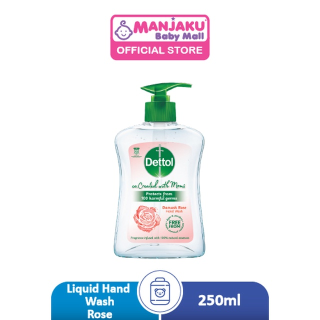 Dettol Liquid Hand Wash Co-Created with Mom Rose - 250ml