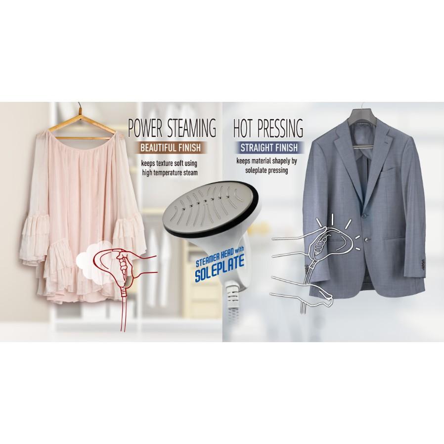 Panasonic Garment Steamer 4 Levels NI-GSD071PSK