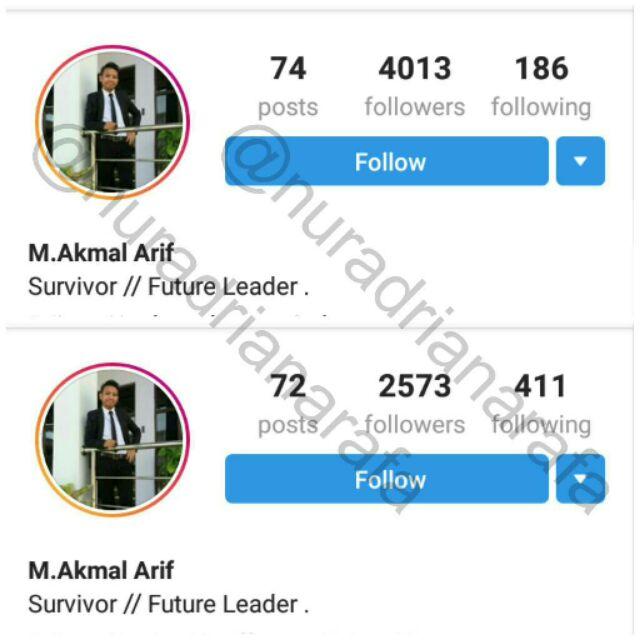Servis Instagram Followers Shopee Malaysia