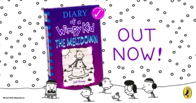 Hardcover Dairy Of A Wimpy Kid The Meltdown By Jeff Kinney Comic Book Shopee Malaysia