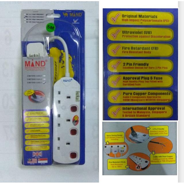 MIND Multiple Trailing Socket