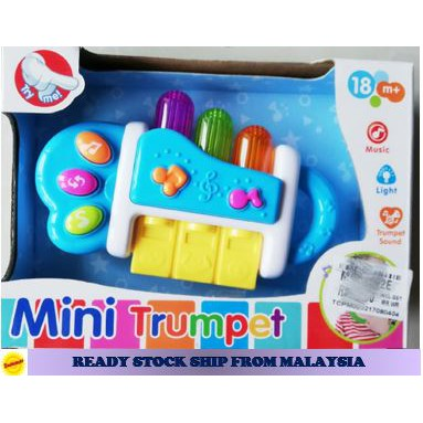 Mini Trumpet Music Sound & light funny toys