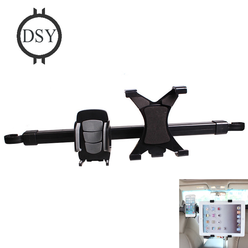 〖♧DSY♧〗2 in 1 Car Seat Headrest Mount Universal Tablet +phone Holder for  iPad Pro/Air