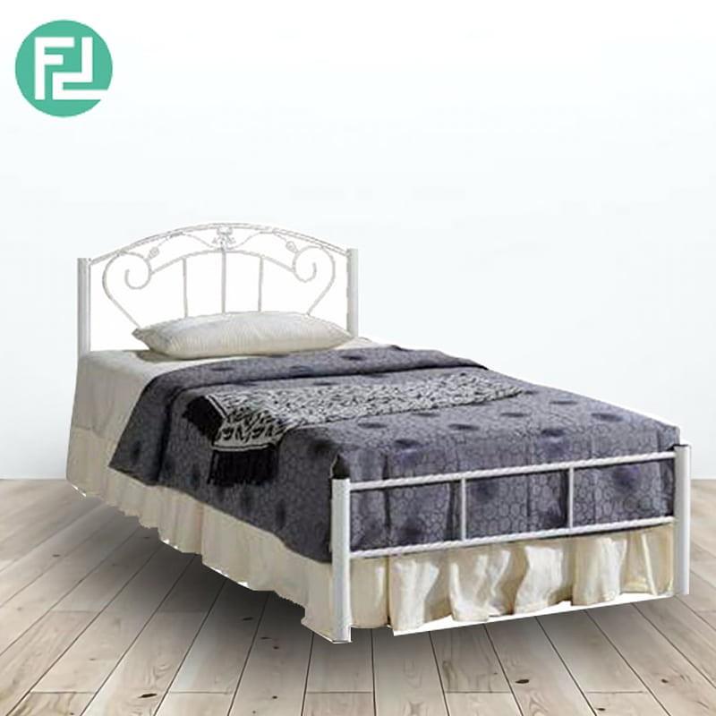 Furniture Direct SB143 SINGLE SIZE METAL BED FRAME-COPPER